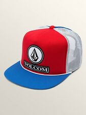 VOLCOM DUALLY CHEESE MESH SNAPBACK CAP