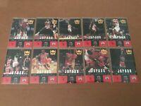 1999 Century Legends Michael Jordan Player of the Century 10 Card Subset #81-90