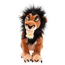 "Genuine Disney Store Lion King Scar Soft Toy Plush BNWT H 14"" Villain Hyena"