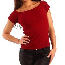 Damen-Shirts ohne Muster in Kurzgröße