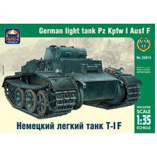 1/35 Scale Pz Kpfw I Ausf F German Tank Model Kits - WW2 Light Panzer 1