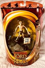 Lord of The Rings The Two Towers - Talking SMEAGOL 2003 Action Figure Rare