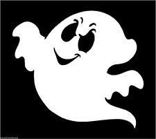 GHOST Spook spettro FANTASMA Adesivo Decalcomania Grafica VINILE LABEL BIANCO V2