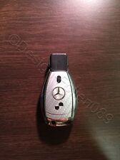Carbon Silber Folie Dekor Schlüssel Mercedes A B C D E G S Klasse AMG 2-Tasten