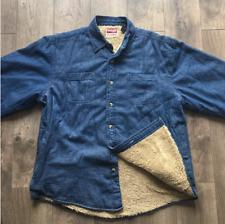 Wrangler Vintage Sherpa-lined Insulated Jacket Men's Large Ra20