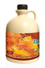 1 Gallon Golden Chateau, Maple Syrup, Grade A Dark Color Robust Taste 128 Oz