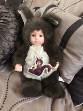Anne Geddes Baby Squirrel large plush Nwt