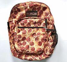 JanSport Pizza Backpack Novelty Print Trans TM60 Supermax Pepperoni Bookbag
