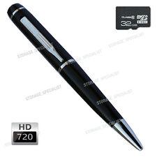 Pen Camera Mini DVR 720P HD Video USB Flash Security Recorder Cam no SPY Hidden