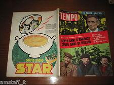 RIVISTA TEMPO 1961/46=MINA=VALERIA MORICONI=BASE AMERICANA GROENLANDIA=