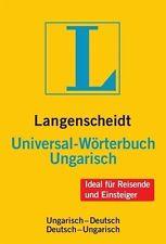 Langenscheidt Universal-Wörterbuch Ungarisch (2012, Kunststoff)