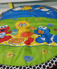 SESAME STREET BEGINNINGS PLAY MAT ELMO BIG BIRD COOKIE MONSTER BABY MAT
