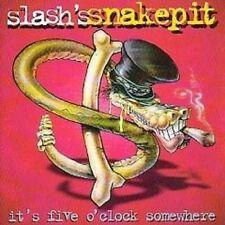 """SLASH'S SNAKEPIT """"IT'S FIVE O'CLOCK SOMEWHERE"""" CD NEU"""