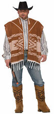 Mens Western Lonesome Cowboy Costume Clint Eastwood Adult Plus Size