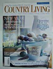Country Living Magazine. January, 2009. Issue No. 277. Armchair Gardening.