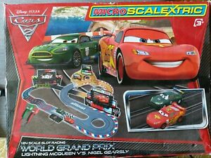 Disney Pixar micro Scalextric Lightning McQueen for parts