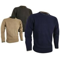 Jack Pyke Ashcombe Crew Neck Pullover 100% Lambswool Hunting Shooting Jumper New