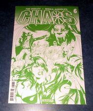 CHAOS #6 H RARE CHAOTIC GREEN variant 1st print DYNAMITE 2014 Purgatori