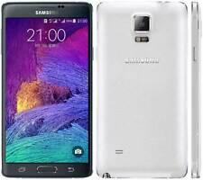 """5.7"""" Samsung Galaxy Note4 N910F 32GB 4G LTE 16MP Europe Débloqué Téléphone Blanc"""