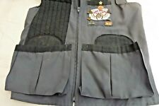 Shooting Vest Patches Pins Right Shoulder Patch Gray Size Medium