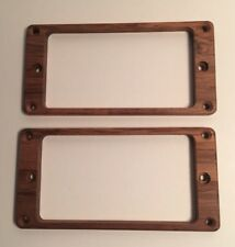 Guilford Genuine Koa pickup ring set for PRS guitar - Flat - Recessed Holes