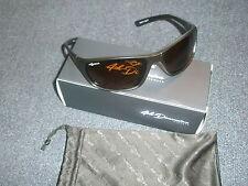 Korda 4th Dimension Polarised Sunglasses Wraps 65 Black Frame Brown Lens K4D10