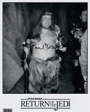 Paul Brooke SIGNED AUTOGRAFO 20x25cm Star Wars in persona Autograph Rancor Keeper