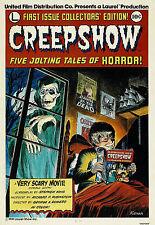 CREEPSHOW vintage movie poster STEVEN KING cult fantasy COLLECTORS 24X36