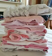 Bundle Of Baby Girls Clothes Newborn to 3 Months 16 items