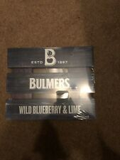 Bulmers wild blueberry & Lime Wooden Wall Sign PUB nfixup Bar on Cave