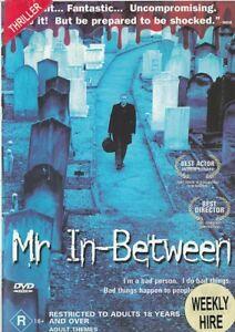 MR IN-BETWEEN DVD (PAL, 2001) RARE - FREE POST