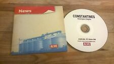 CD Indie Constantines - Kensington Heights (12 Song) Promo ARTS & CRAFTS PROD cb