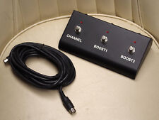 RANDALL RF22 3 button MIDI foot switch PEDAL for RM1250 GUITAR AMP - FOOTSWITCH