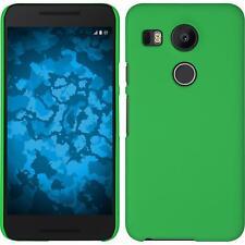 LG G Flex 2 Case Hardcover Rubberized Green