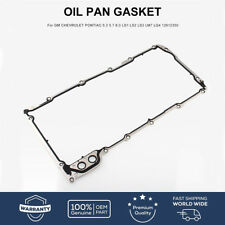OIL PAN GASKET for GM CHEVROLET PONTIAC 5.3 5.7 6.0 LS1 LS2 LS3 LM7 LQ4 12612350