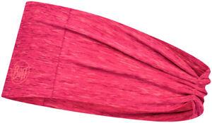 Buff Coolnet UV+ Tapered Headband - Pink Heather, One Size