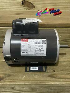 DAYTON 6K321BF Belt Drive Motor 1 HP 1725 rpm 115/208-230V, Ball bearings