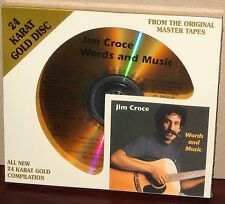 DCC GZS 1134 GOLD CD: JIM CROCE - Words And Music - OOP 1999 USA SEALED