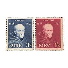 IRELAND, SCOTT # 163/164(2), 3p+1sh.3p. VALUES FATHER WADDING ISSUE MNG
