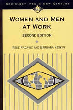 Women and Men at Work (Sociology for a New Century Series), Acceptable, Padavic,