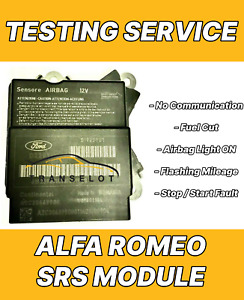 ALFA MITO 50524710 AIRBAG ECU SRS MODULE NO COMMUNICATION REPAIR TESTING SERVICE