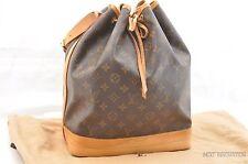 Authentic Louis Vuitton Monogram Noe Shoulder Bag M42224 LV T609