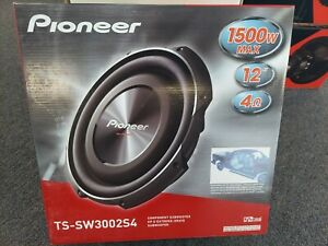 """BRAND NEW IN THE BOX 12"""" PIONEER SHALLOW MOUNT TS-W3002S4"""