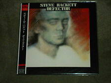 Steve Hackett‎ Defector Japan Mini LP Bonus Tracks
