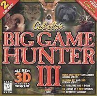 Cabela's Big Game Hunter 3 (Jewel Case) - PC