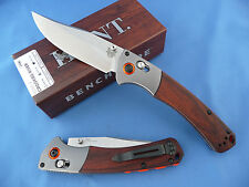 Benchmade Hunt 15080-2 Crooked River Axis Knife Stabilized Wood S30V