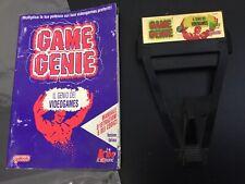 1991#GALOOB CODMASTERS GAME GENIE CART CHEAT NINTENDO NES #