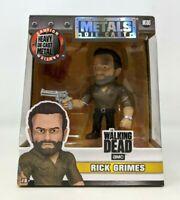 "New Jada Toys AMC The Walking Dead Rick Grimes M180 4"" Diecast Metal Figure FP20"