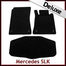 Mercedes SLK R171 2004-2011 A Medida De Lujo 1300g Alfombra Coche + Esteras de arranque Negro