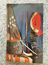 POSTCARD USED VERMONT, BENNINGTON--RELICS FROM THE BATTLE OF BENNINGTON